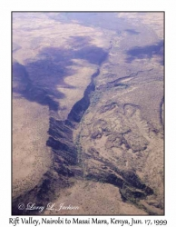 Rift Valley, Airplane View