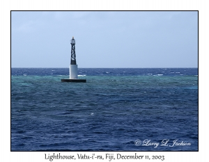 Lighthouse, Vatu-i-ra, Bligh Water