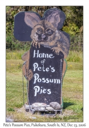 Pete's Possum Pies