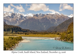 Alpine Creek & Southern Alps