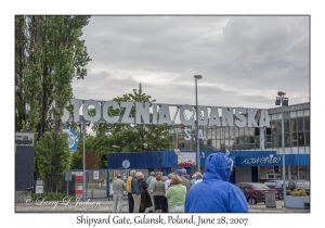 Lenin Shipyard Gate