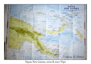 Papua New Guinea Map