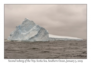 Second Iceberg of the Trip