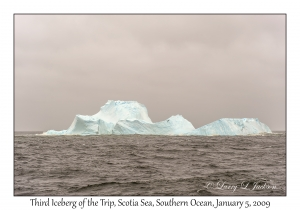 Third Iceberg of the Trip