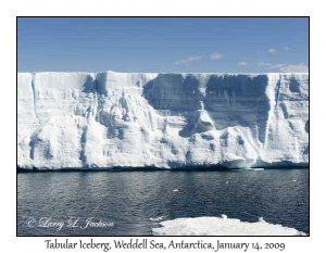 Weddell Sea Tabular Iceberg