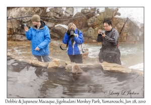 Photographers & Japanese Macaque