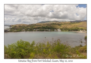 Umatac Bay from Fort Soledad