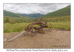 Old Road Plow