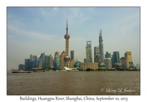 Buildings, Huangpu River