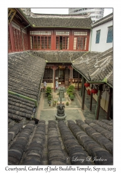 Courtyard, Garden of Jade Buddha Temple