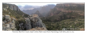 Blyde River Canyon Panorama