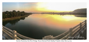 Sunrise Panorama, Ken River