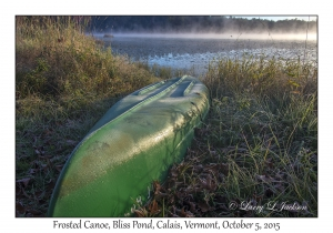 Frosted Canoe
