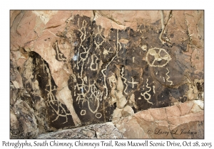 Petroglyphs, South Chimney