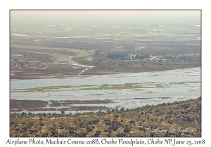 Airplane Photo, Chobe Floodplain